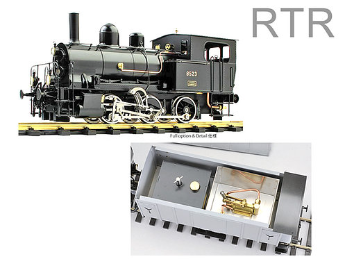 SRR E3/3 TIGERLI with TENDER, RTR