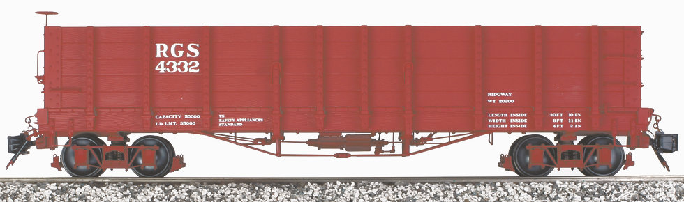 AM2202-23 High Side Gondola - RGS, 1 car