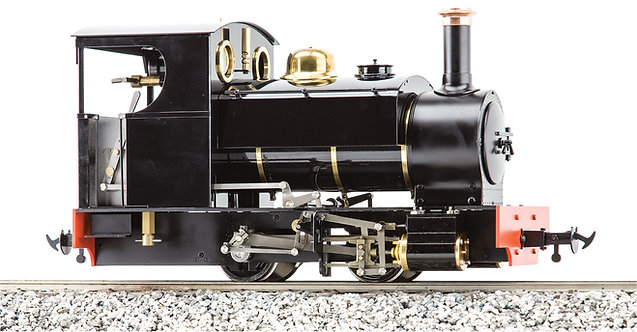 S19-31B Sabrina 0-4-0ST, Black, Live Steam