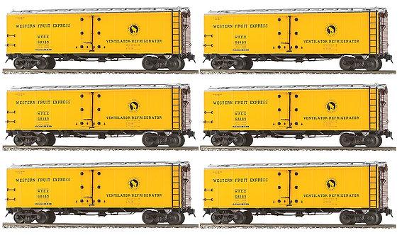 AM32-511 PFE Reefer - Great Northern (Western Fruit Express) 6-car set