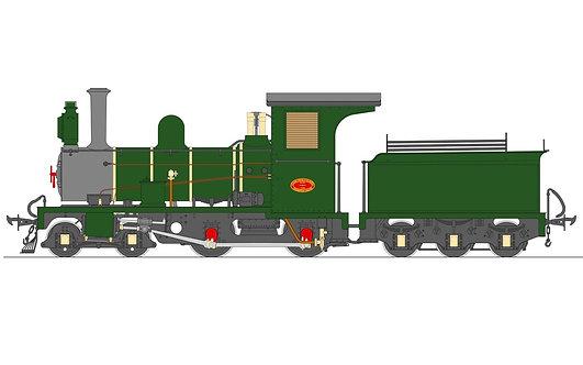 S19-36B Lawley NG6 4-4-0, SAR Green, Live Steam