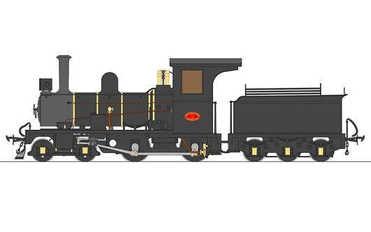S19-36C S19-36C Lawley NG6 4-4-0, SAR Black, Live Steam