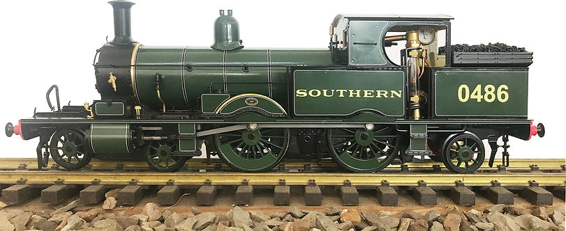1:32 S32-15C Adams Radial Tank, SR Lined Maunsell Green #0486, RTR