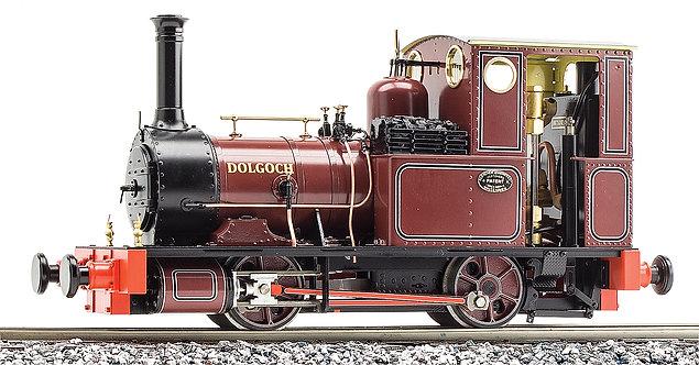 S19-32D 'Dolgoch' 0-4-0T, Indian Red, Live Steam, 32mm Gauge