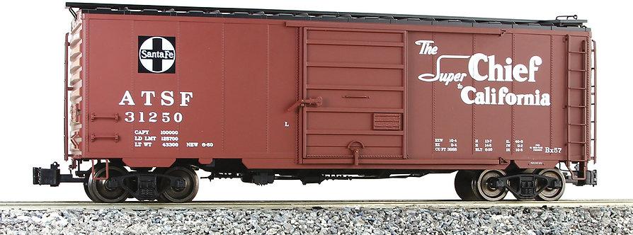 G401-10A PS-1 Box Car - Santa Fe, Super Chief #31250, 1 car