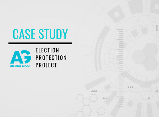 Case Study: Election Protection Project - Report 1