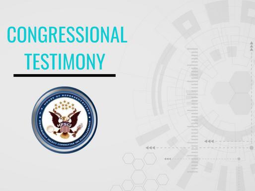 Cindy Otis Testifies Before the House Intelligence Committee