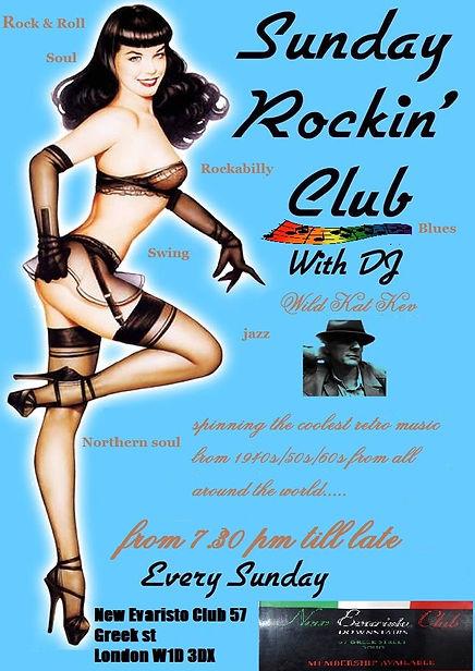 Rocking Club Flyer