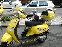 Beatle Vespa