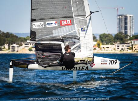 """Benoît MARIE navigateur, ingénieur et confiné comme nous conte l'histoire de son voilier """"labo"""""""