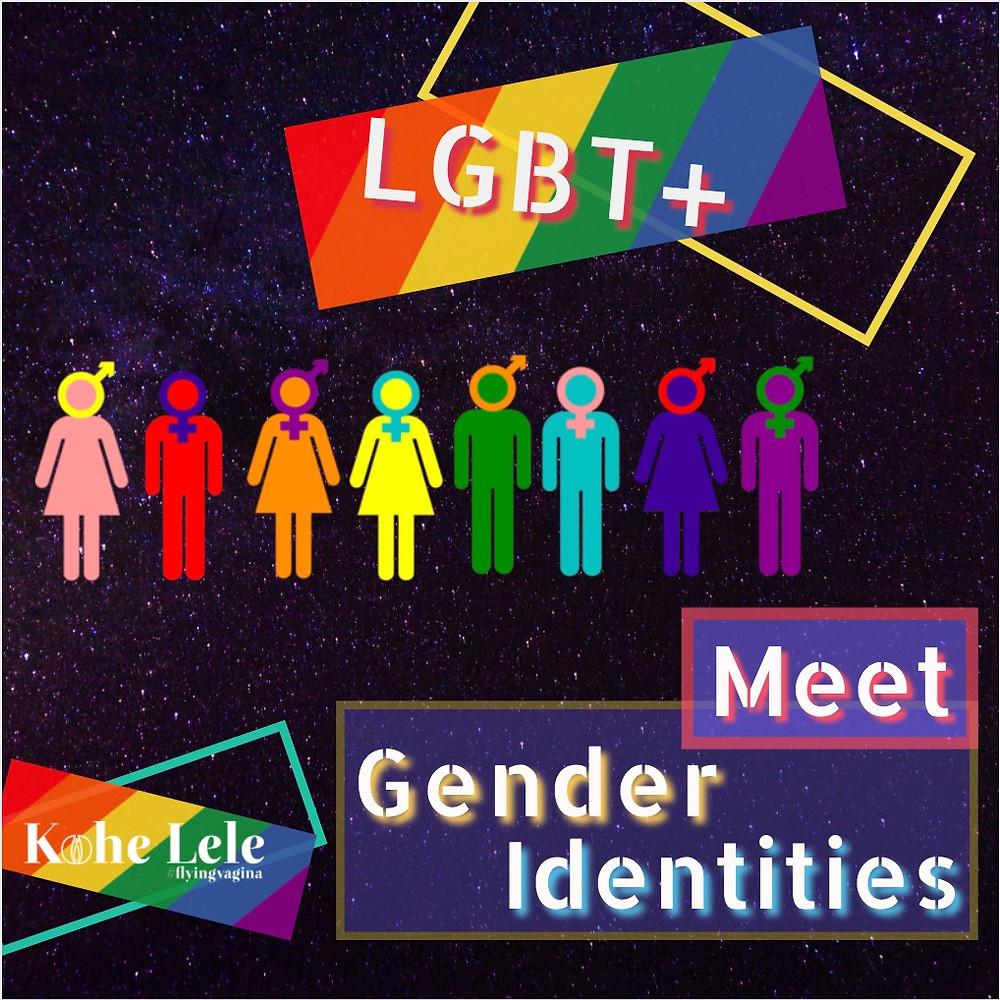 Meet gender identities