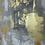 Thumbnail: Desert Art. Abstract Canvas Painting. Cactus Art. Desert Landscape Wall Decor.