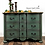 Thumbnail: French Country Buffet. Serpentine Sideboard. French Farmhouse Credenza.