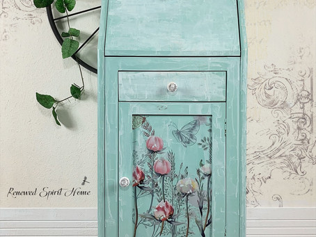 Dreamy Boho Farmhouse Secretary Desk