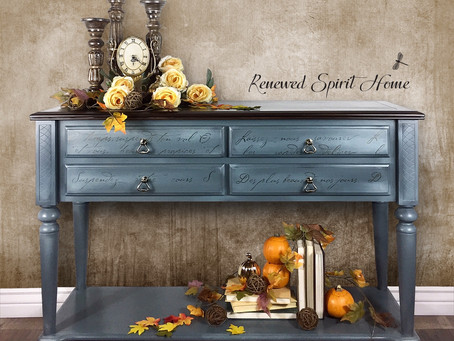 French Country Inspired Buffet Table