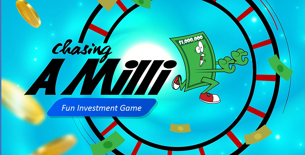 Chassing A Milli Board Game (limited)