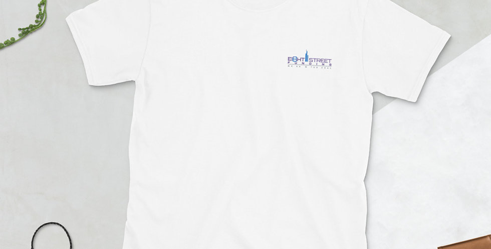 Short-Sleeve Unisex embroidered T-Shirt
