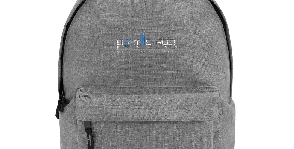 Ei8ht Street Embroidered Backpack