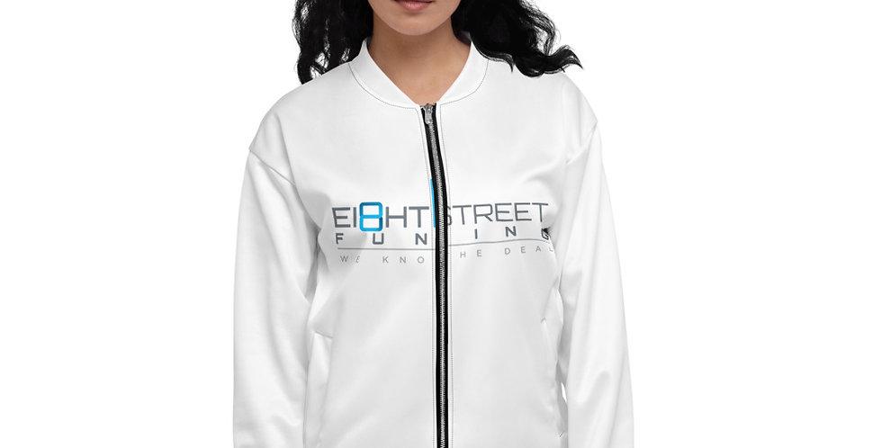 Ei8ht Street Womens Bomber Jacket