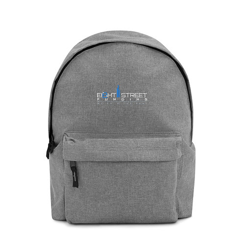 Ei8ht Street Funding Embroidered Backpack