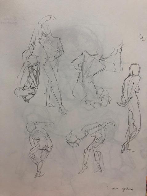 Gesture 1 min