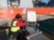Offshore Lidar Maintenance met mast, wind farm, SCADA