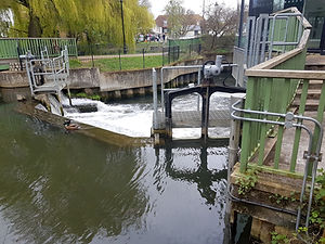 automated actuator control system East Hertford river