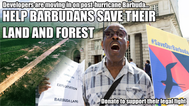Crowdfund launched in support of legal bid to resist land grab and airport construction in Barbuda