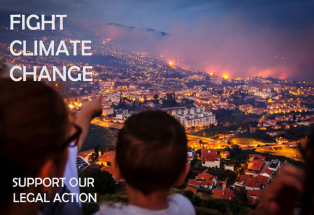 Crowdfunding campaign for climate change legal action launched.