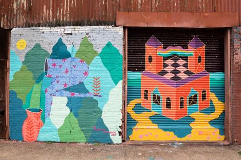 Brooklyn, NY, 2019 By residents Caitlin McDonagh and Valeriya Volkova