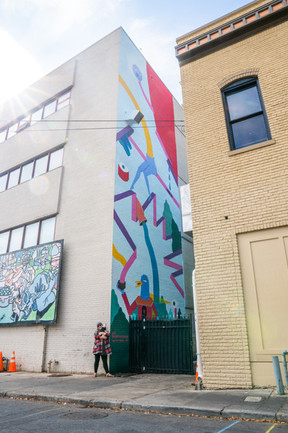 Charlotte, NC, 2019 By Resident Caitlin McDonagh For Talking Walls Mural Festival