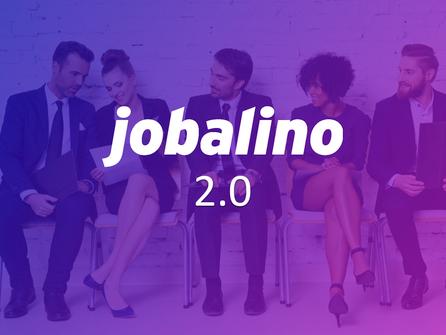 jobalino 2.0 -  mit neuem Auftritt und neuen Funktionen