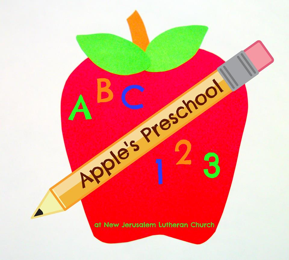 Apples Preschool Apple Logo