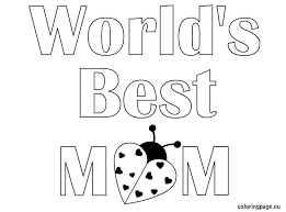 Mother's Day Coloring Page_4