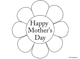 Mother's Day Coloring Page_2