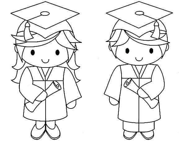 Coloring pages_Preschool Graduation_1_Ju