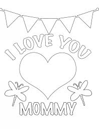 Mother's Day Coloring Page_1