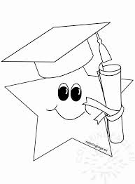 Coloring pages_Preschool Graduation_June
