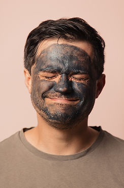 funny-guy-with-cosmetic-mask-on-his-face
