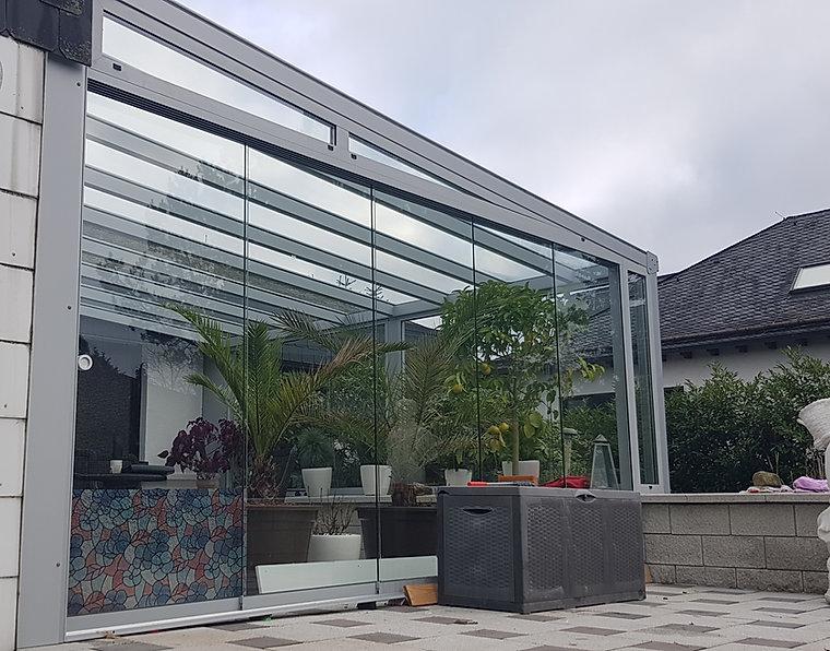 Terrassendach Terrassenüberdachung Firma Wintergarten Solution Köln