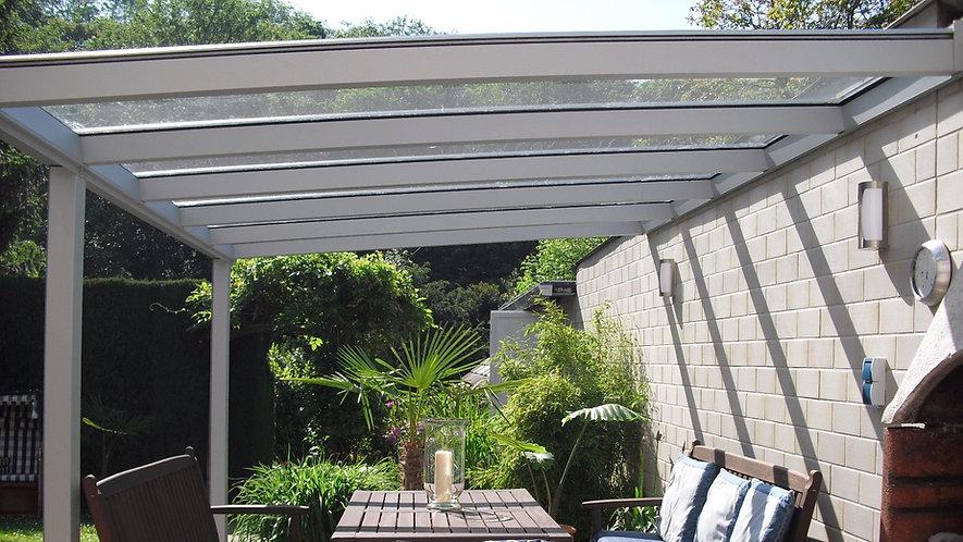 Terrassendach Hannover, günstige Terrassenüberdachung in Hannovermit Glas und Alu,Preise und Angebote