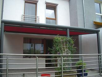 Terrassendach Markisen, Markise füe Terrassendach und Überdachungen als Sonnenschutz für besonders heisse Tage