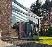 Glasschiebetüren in Köln für Terrassendach und Wintergarten