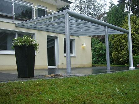 Überdachungen Bausätze, Angebote Terrassendach Bausatz Lieferung Montagen Alu Überdachungen günstig in NRW
