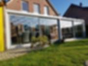 Sonderangebote Wintergarten, Reduzierte Angebote für Wintergärten mit Glasschiebetüren von Wintergarten-Solution Satzkowski