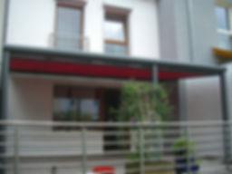 Terrassendachmarkise, Markise für alle Terrassendächer mit Wintergarten-Solution