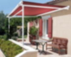 terrassenmarkisen für Gewerbe und Privat mit Wintergarten Solution