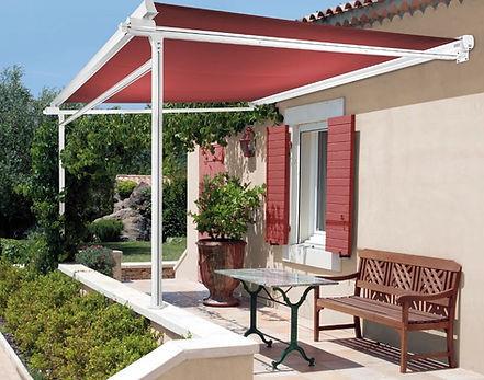 kann man eine markise auf dem balkon auf den mauers. Black Bedroom Furniture Sets. Home Design Ideas