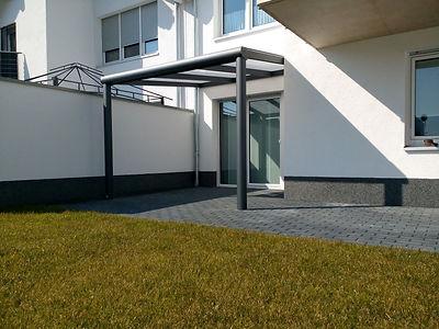 Terrassenüberdachung in Alsdorf mit Wintergharten Solution. günstige Terrassendach Alsdorf Angebote zu reduzierten Terrassendach Alsdorf Preise.Terrassendach aus Alu mit Glasdach und Beleuchtung