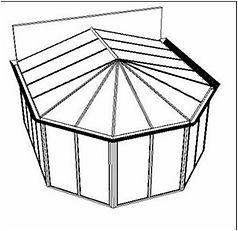 4+Satteldach+mit+halben+Hexagon+und+Dreh